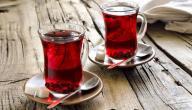 السعرات الحرارية في الشاي الأحمر
