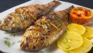 السعرات الحرارية في السمك المقلي