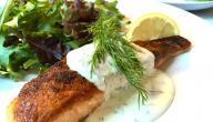 هل أكل السمك مع اللبن يسبب البرص