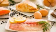 هل أكل السمك والبيض مضر