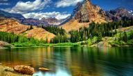 موضوع تعبير عن الطبيعة التي خلقها الله