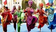 معلومات عن الرقصة البنجابية التقليدية