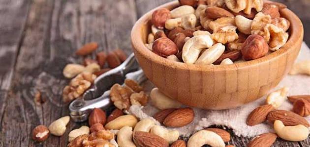 المكسرات تساعد بالتحكم بمستوى السكر لدى مرضى السكري