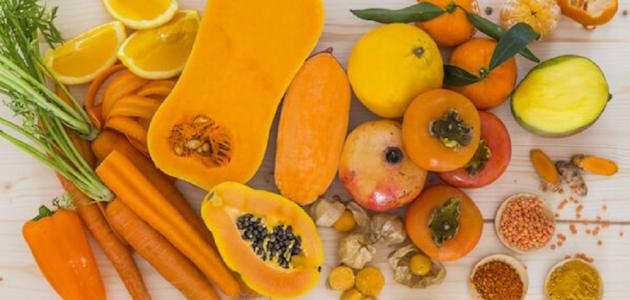 الفاكهة و الخضار تساعد في تلون البشرة الشاحبة