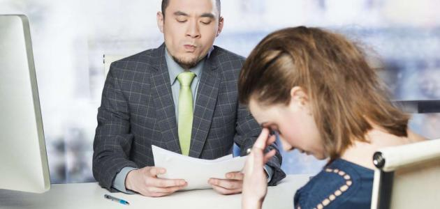 أخطاء في لغة الجسد عليك تجنبها أثناء المقابلة