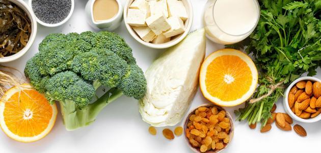 أطعمة غير الحليب غنية بالكاليسيوم