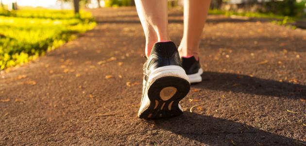 فوائد المشي لإنقاص الوزن