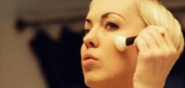 طرق وضع مساحيق التجميل لمختلف أشكال الوجوه