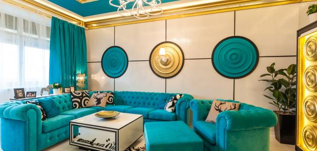 طرق لإضافة اللون الأزرق إلى أي غرفة في المنزل