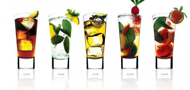 ما هي المشروبات التي يمكن تناولها و متى يمكن تناولها ؟
