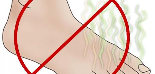 نصائح لمنع رائحة القدمين