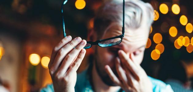 مشاكل البصر بعد التمارين الرياضية
