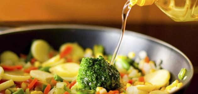 أفضل الزيوت لقلي الخضروات