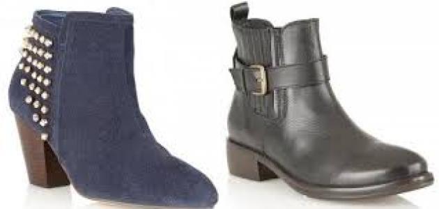 أزواج من الأحذية لفصلي الخريف و الشتاء