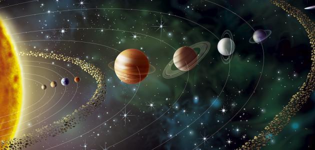 حقائق حول النظام الشمسي