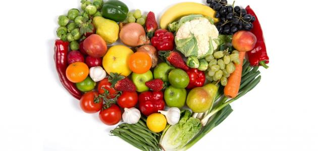 نظام غذائي سليم للحفاظ على نظافة الشرايين