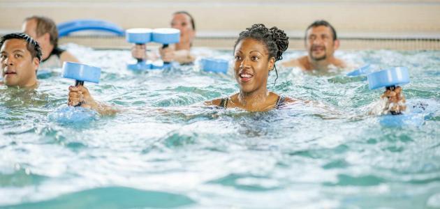 فوائد التمارين الرياضية المائية
