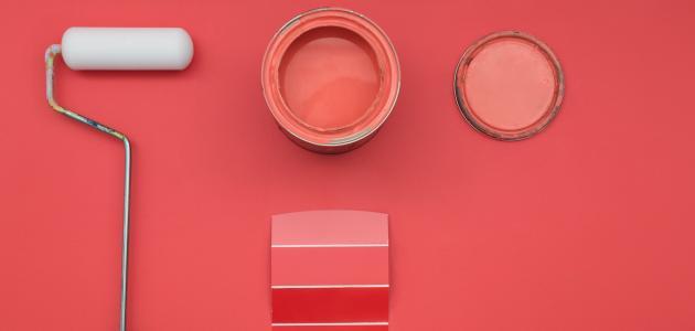 استخدام الطلاء لتغير حجم و شكل الغرف