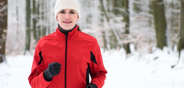 فوائد المشي في الشتاء