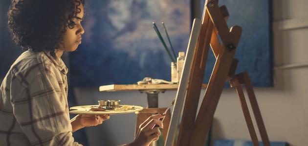 معلومات عن فن الرسم بالزيتون