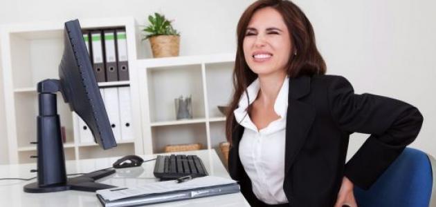 أضرار الجلوس لساعات طويلة على الصحة