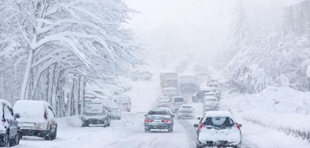 نصائح لقيادة آمنة في الثلج