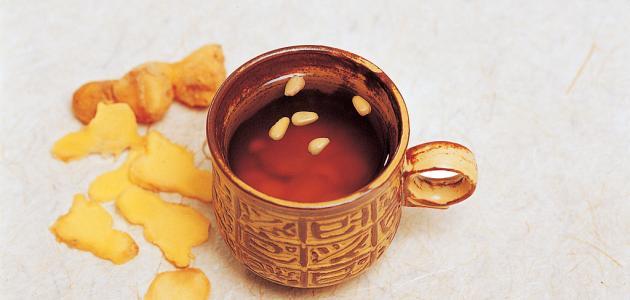 فوائد الشاي بالزنجبيل