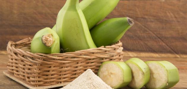 فوائد تناول الموز الأخضر
