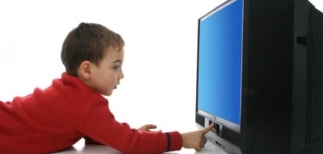 أضرار مشاهدة التلفاز على الأطفال