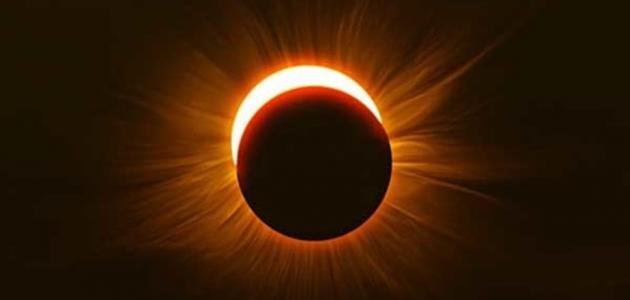 الإعجاز العلمي في قوله فإذا برق البصر وخسف القمر