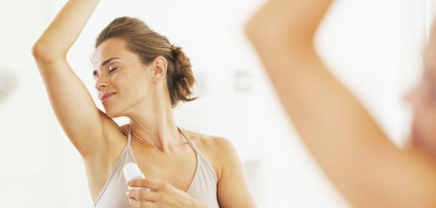 طرق التخلص من رائحة الإبط