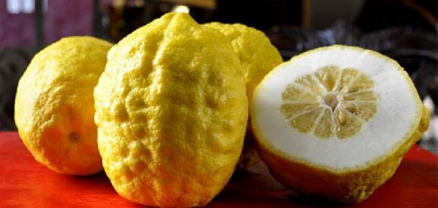 فاكهة الترنج وفوائدها الصحية
