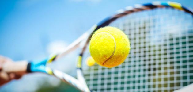 معلومات عامة عن لعبة التنس