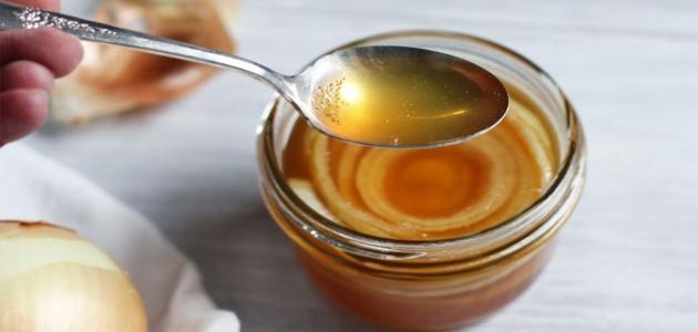 فوائد عصير البصل مع العسل
