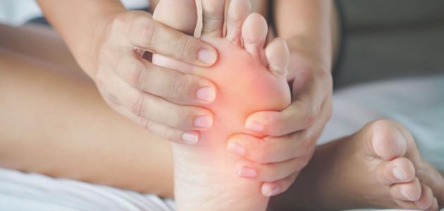 أسباب ألم الأقدام
