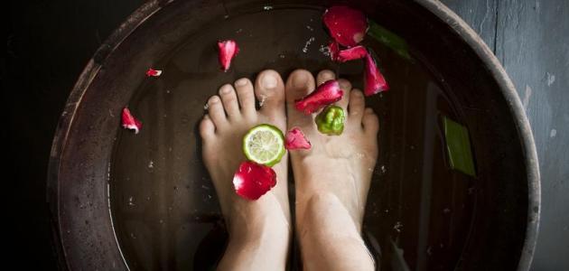 التخلص من رائحة الأقدام السيئة