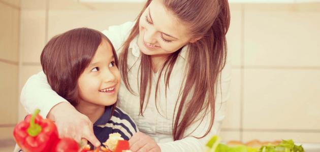 أطعمة تزيد من جمال الطفل