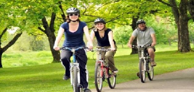 فوائد الدراجة الهوائية للكرش