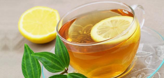 فوائد الشاي و الليمون