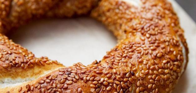 طريقة تحضير الخبز التركي بالسمسم