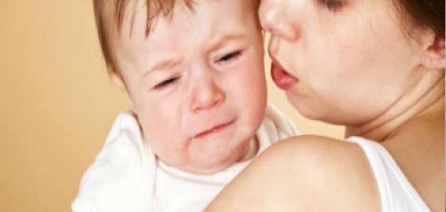 الإصابة بالعين عند الأطفال
