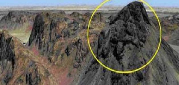 أين يقع جبل الطور