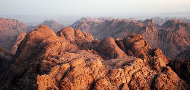 أين يقع جبل الطور سطور