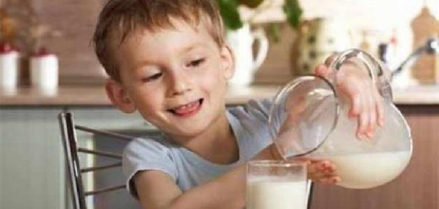 فوائد تناول الحليب على الافطار