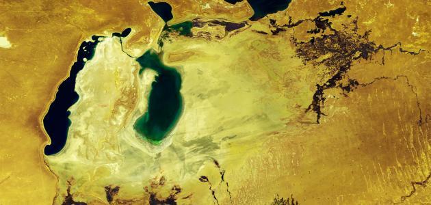 معلومات عن بحر آرال - سطور