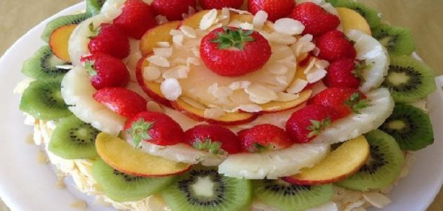 طرق تزيين الفواكه