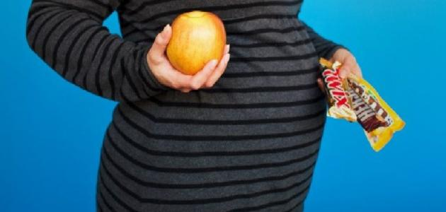 مخاطر السمنة على صحة الحامل والجنين