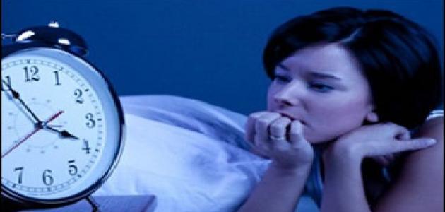 أسباب عدم القدرة على النوم