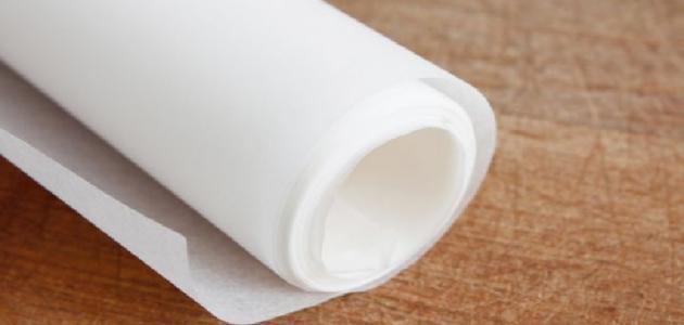 طريقة استخدام ورق الزبدة