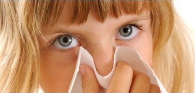 علاج انسداد الأنف عند الأطفال